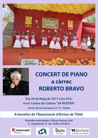 Concert de piano roberto bravo for Sa nostra oficinas palma