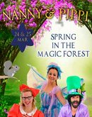 Spring in the magic forest. Nanny & Pippi